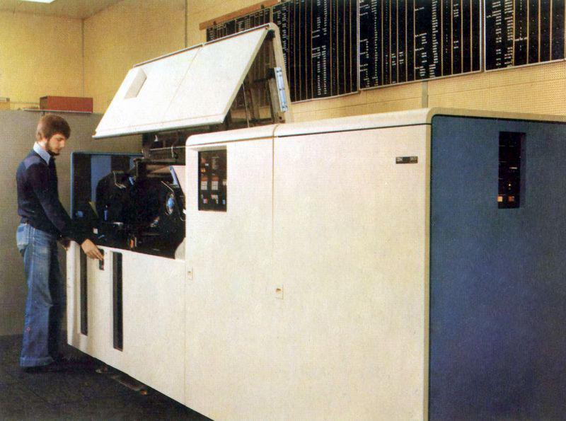 IBM3800 laser printer